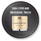 24H Cream Mousse Rich